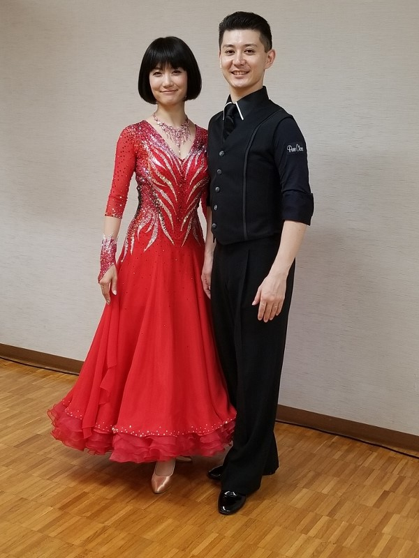 田中くるみ 先生 モデル 白樺ドレス製作