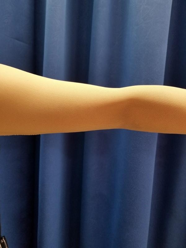 二の腕カバー タルミ シミ隠し 楽ちんスタイルアップ 社交ダンス用インナー ベージュ ブラック ドレスインナー背あきタイプ