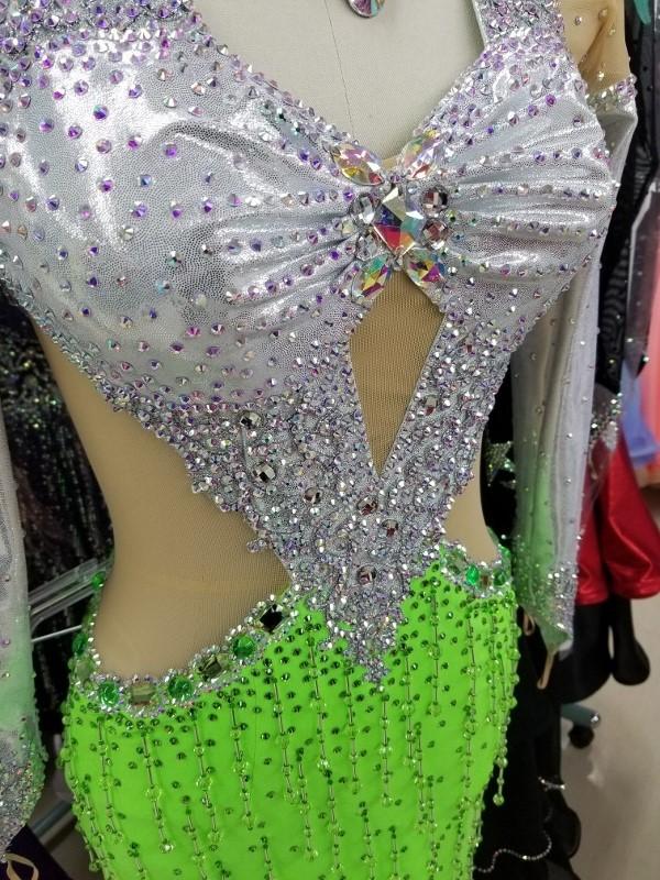 二の腕・脇腹・胸元カバーできるドレスインナー 楽ちんスタイルアップ 社交ダンス用インナー ネットインナー 露出を隠す ドレスインナー背あきタイプ