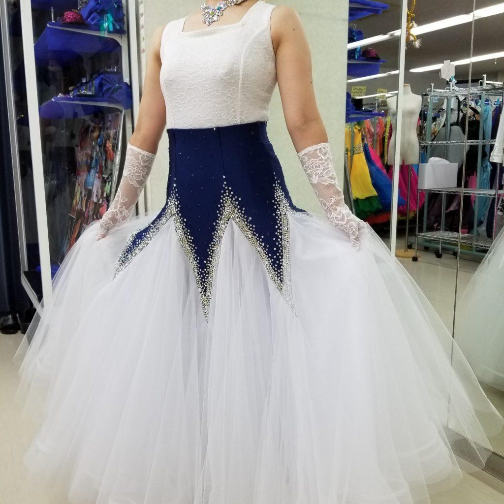 社交ダンスドレスリメイク 社交ダンスドレスリフォーム ダンスドレスの直し 大事なドレスを蘇らせる 白樺ドレスリフォーム