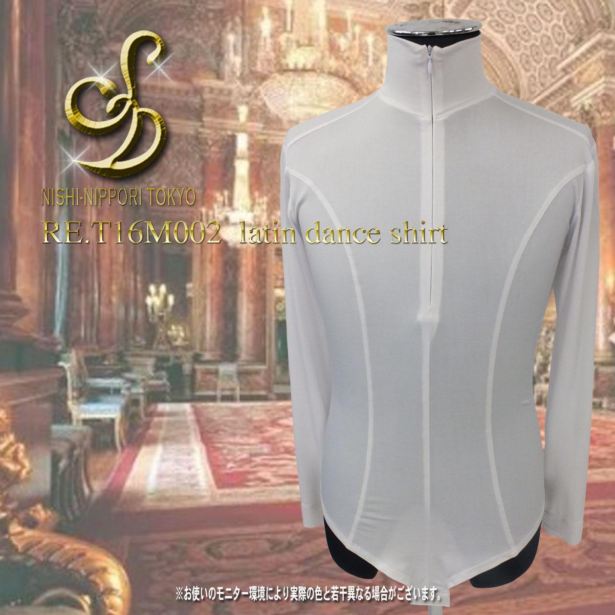 サイズ S/M/L S:袖丈62cm/B90cm/W72~76cm M:袖丈65cm/B94cm/W76~80cm L:袖丈67cm/B98cm/W80~84cm カラー 黒・白 素 材 ポリエステル95% ポリウレタン5% ラテンレオタードシャツ