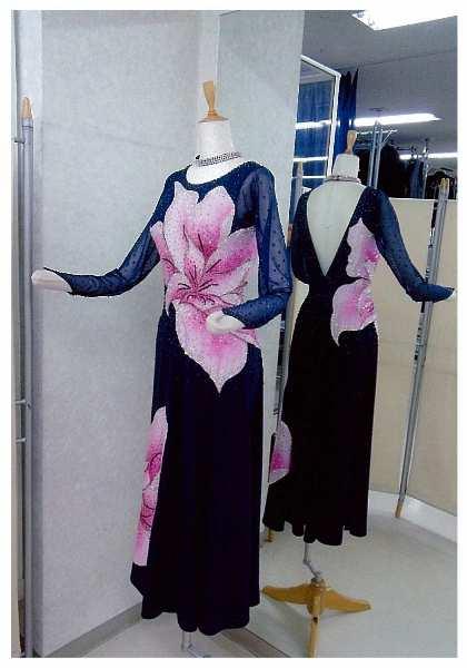 ラテンドレス 白樺ドレス