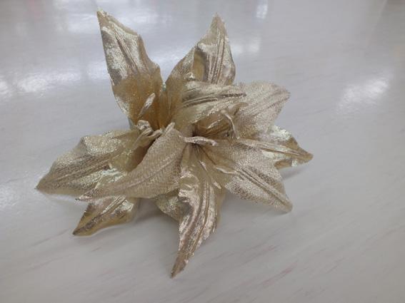 コサージュ カサブランカ SD11 ゴールド