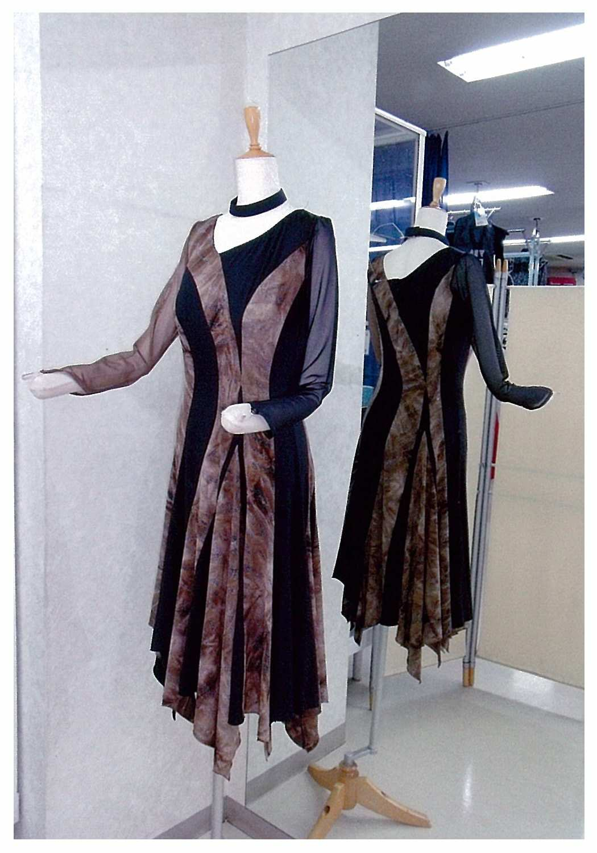 新作準正装ラテンドレス