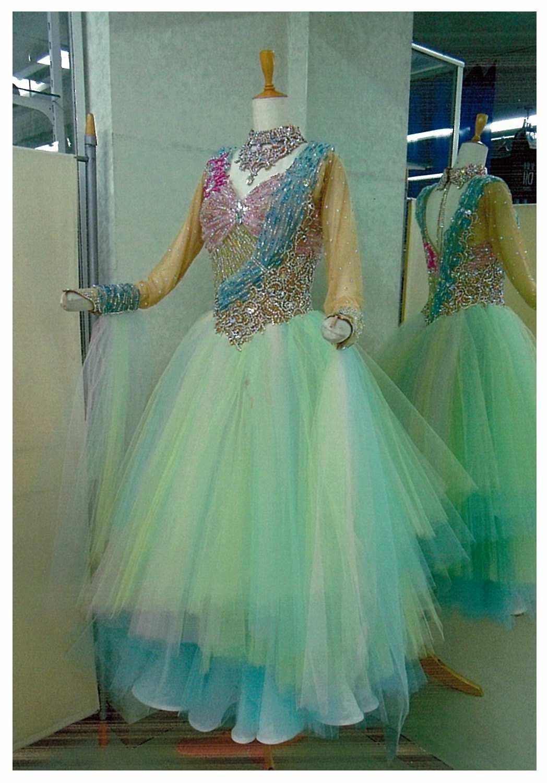 チュールスカート ファンタジックラインドレス