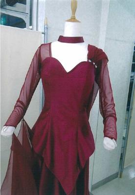 トップスGT2005ワインフロート付き画像 白樺ドレス