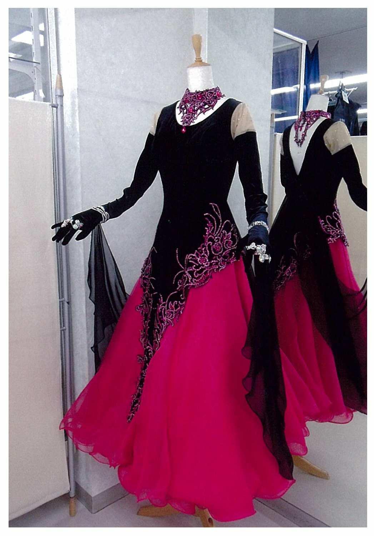 タンゴに適したドレス