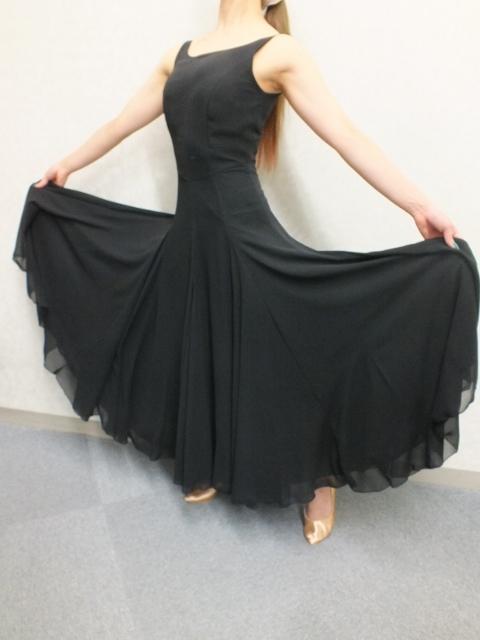 白樺ドレスオリジナル ワンピース黒
