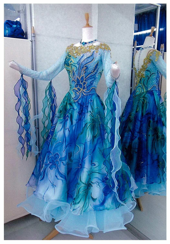 ファンタジックライン ドレス