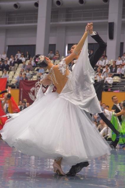 東部日本学生競技ダンス選手権大会 ワルツ優勝