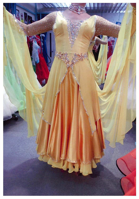 社交ダンスドレス リメイク