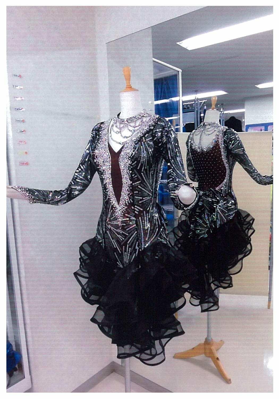 DSIの生地を使用したゴージャスなドレス