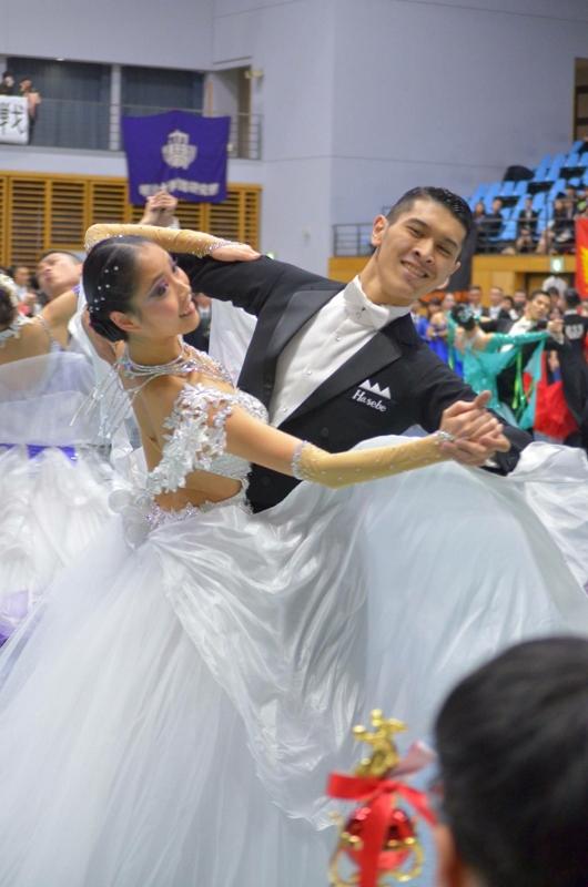 東部日本学生競技ダンス選手大会1部戦 1位 勝てるドレス