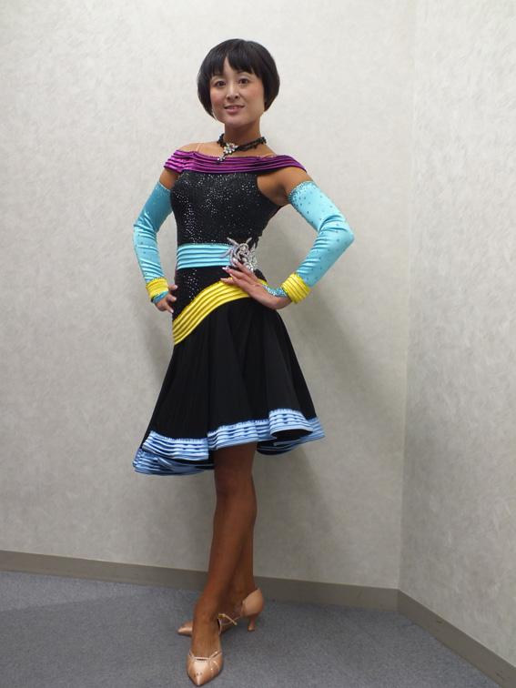 武本理絵先生お勧め個性的なラテンドレス スタイリッシュパソボレロ