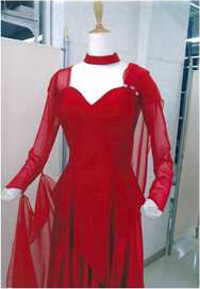ドレスに変身 トップスGT2005フロート付き画像 白樺ドレス