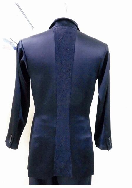 メンズ 社交ダンス用 カラー セミオーダージャケット