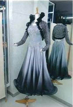パソ用新作レンタルドレスグラデーション画像 白樺ドレス