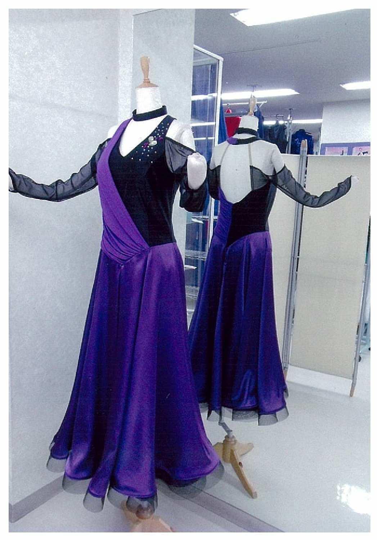 danceGALA2016 白樺ドレス フォーメーションレンタルドレス