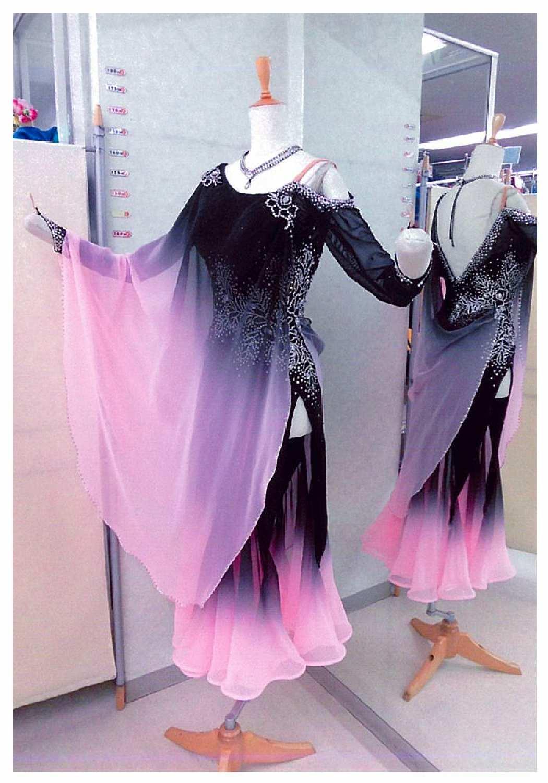 デモ用社交ダンス衣装