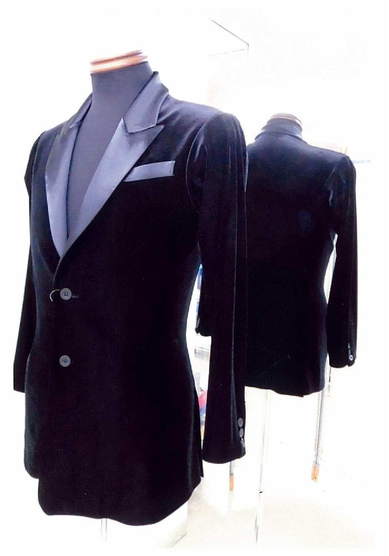 ベロア素材のメンズダンスジャケット