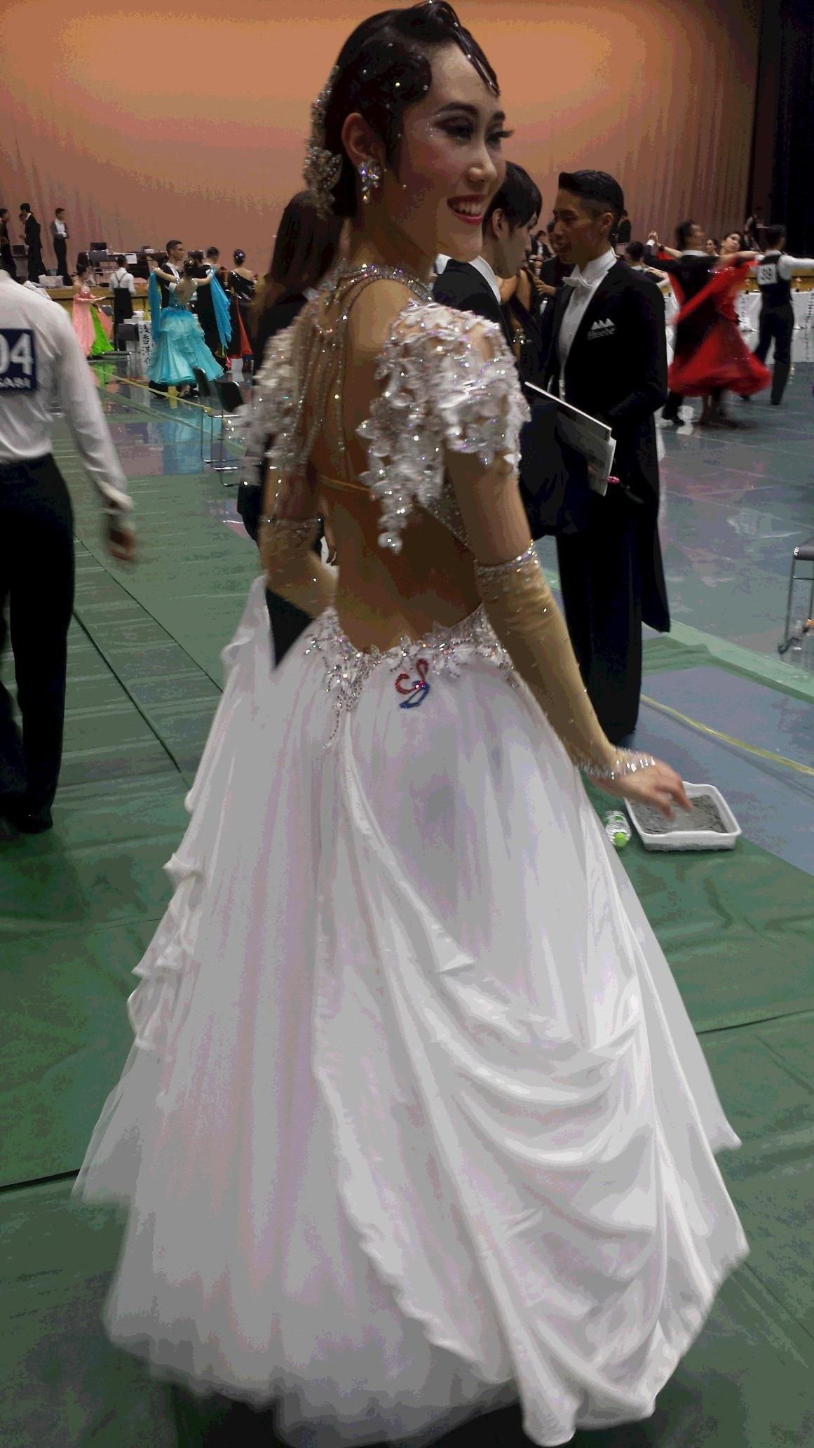 チュール 社交ダンスドレス 勝つためのドレス