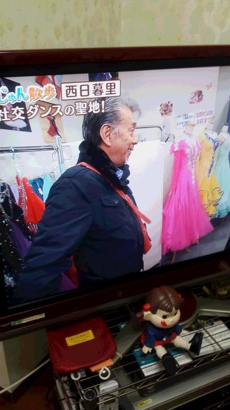 テレビ朝日 じゅん散歩 西日暮里編 社交ダンスの聖地 白樺ドレス