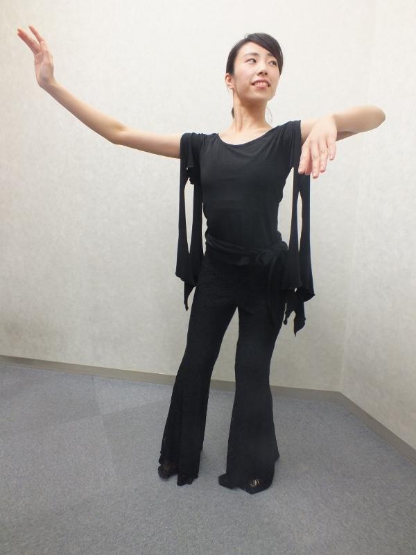 社交ダンス 新作ウェア 袖アレンジ