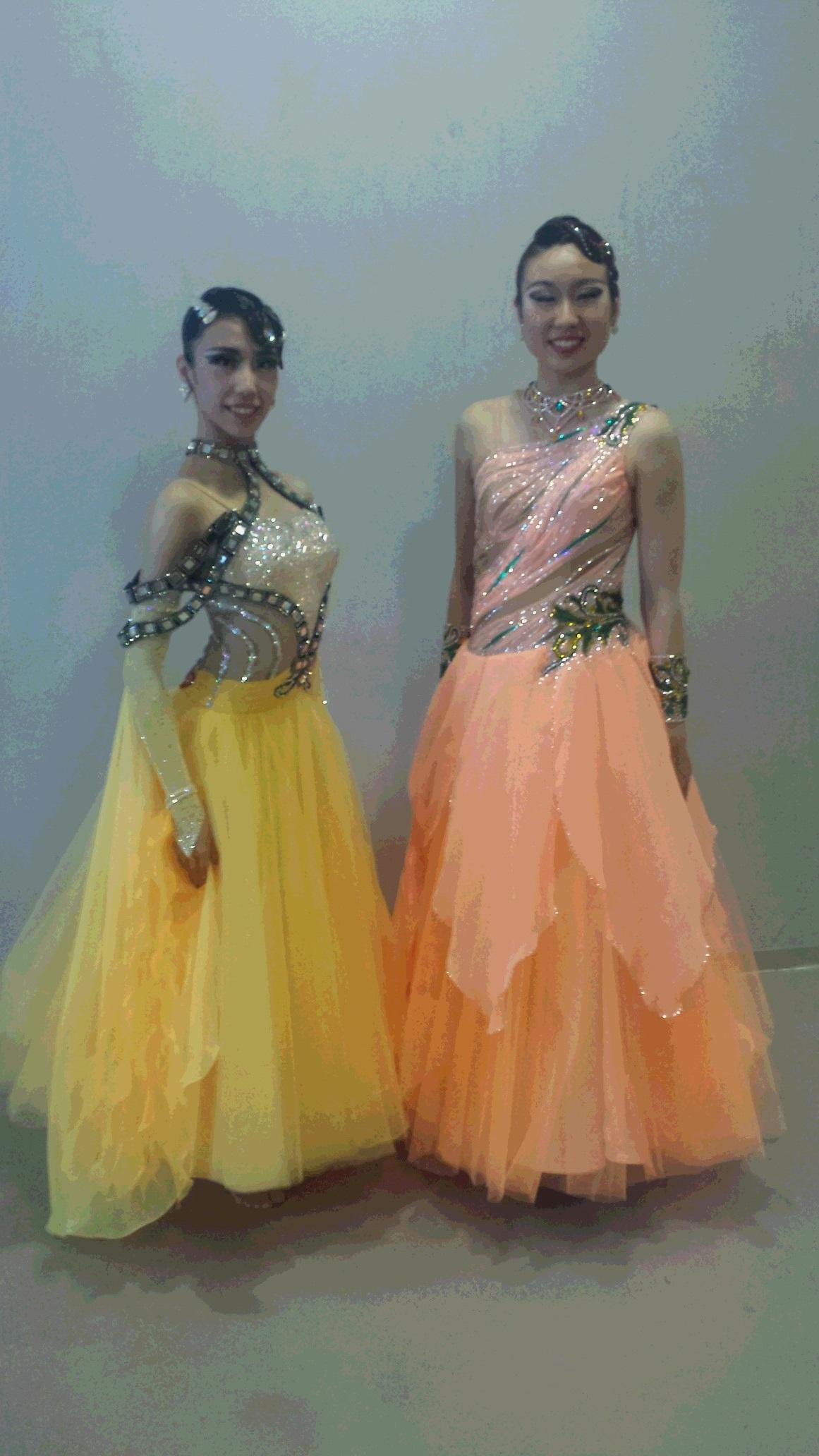 東部日本学生競技ダンス選手権大会 勝つためのドレス