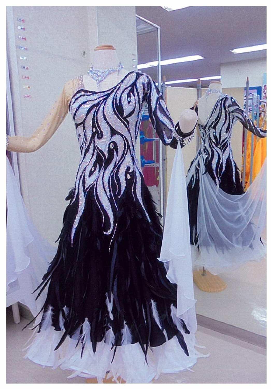 秋・冬のデモ用ドレス ファンタジックラインドレス