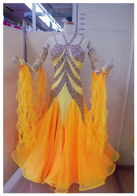 SM21モダン サフラン ネオラインドレス