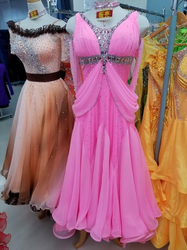 特価 中古 社交ダンスドレス