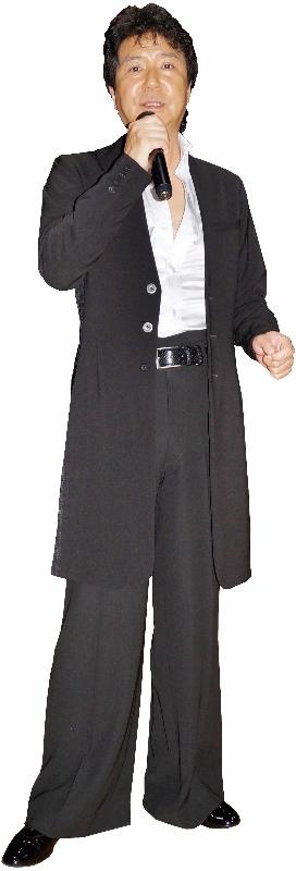 カラオケ ステージ用衣装 男性 白樺ドレス