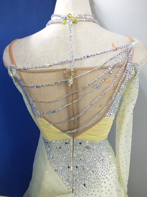 社交ダンスドレスのお直し 白樺ドレス