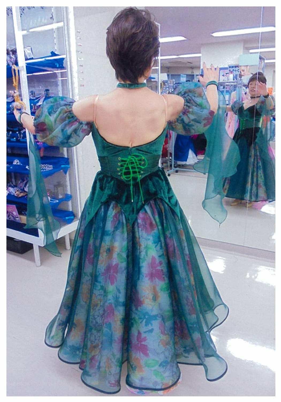 風と共に去りぬの スカーレット・オハラ 舞台衣装・ショーダンス衣装
