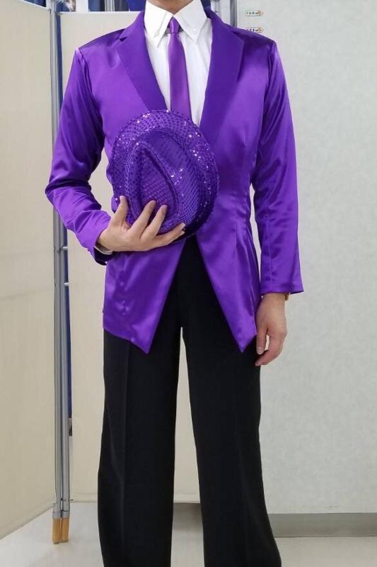 男性用のダンス衣装 サニー北野さん かっこいいジャケット