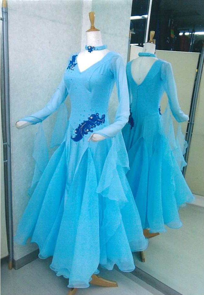 フォーメーション用ドレス 白樺ドレス