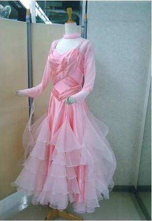 日本製準正装モダンドレス 白樺ドレス