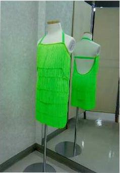 ジュニア用ラテンドレス 白樺ドレス