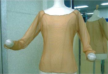 ネットインナーベージュ画像 白樺ドレス